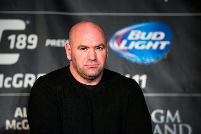 MMA Dana White