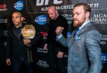 Dana White Conor McGregor UFC