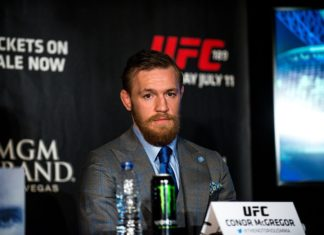 Conor McGregor UFC 189 Press tour