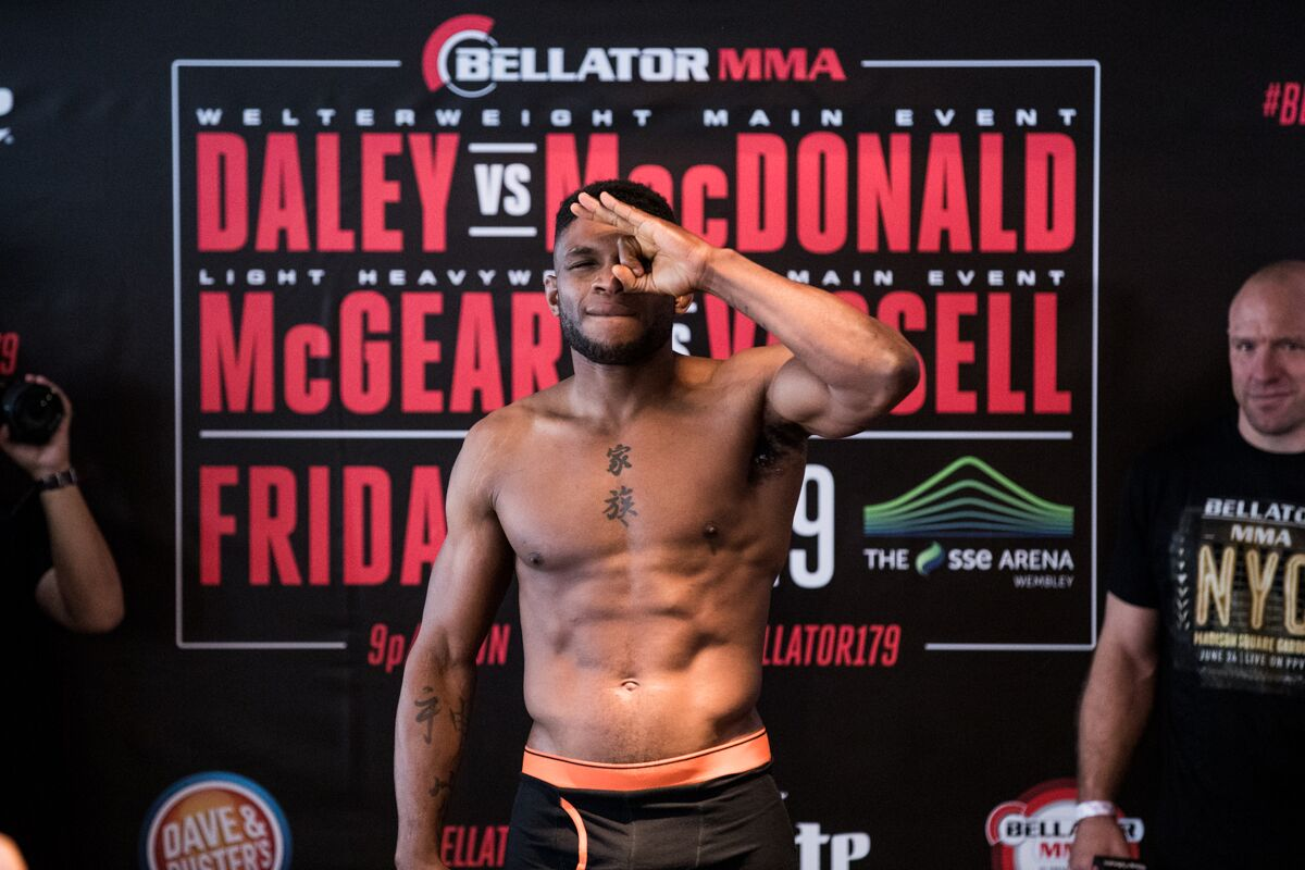 Paul Daley Is Amused By Lorenz Larkin Trash Talking Him
