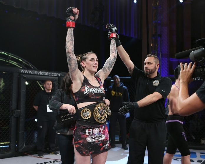 Megan Anderson (Invicta FC 21) will face Cris Cyborg at UFC 214