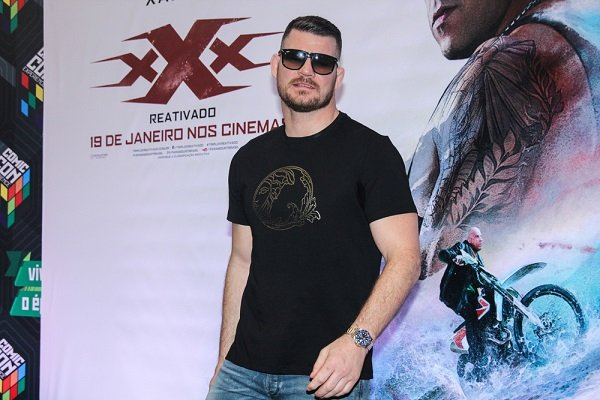 SAO PAULO, DECEMBER 01, 2016: Michael Bisping during Comic Con Experience (CCXP)