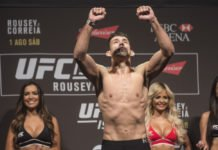 UFC 216 Demian Maia