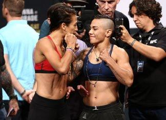 UFC 211 weigh in