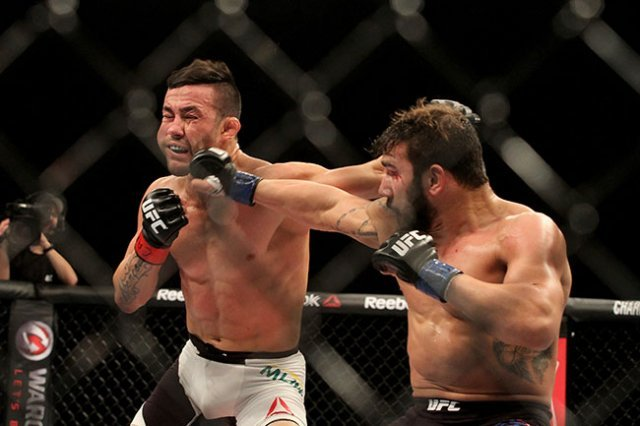 Pedro Munhoz, who fights at UFC Stockholm