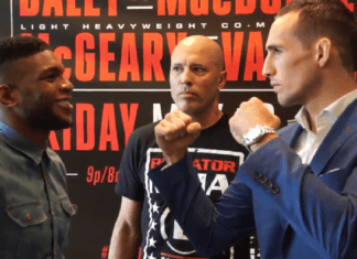 Paul Daley Rory MacDonald