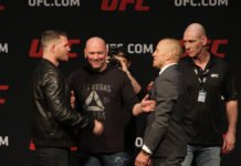 UFC 217 Michael Bisping Georges St. Pierre