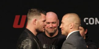 GSP Michael Bisping UFC 217