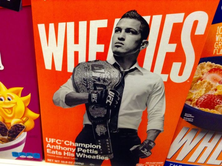 Anthony Pettis Wheaties // Mike Mozart (CC)