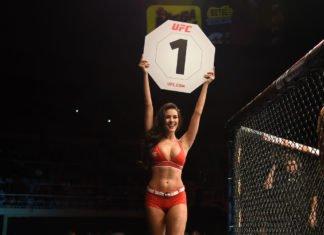 MMA Octagon Girl