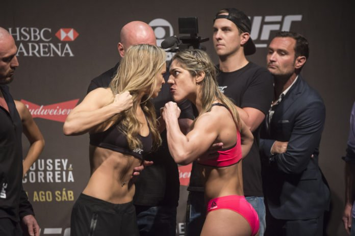Bethe Correia released by UFC