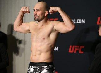 UFC Stockholm Glover Teixeira Alexander Gustafsson