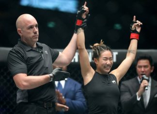 ONE Championship star Angela Lee, who the UFC claims isn't ready