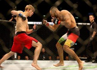 UFC fighter Arnold Allen