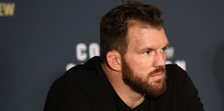 Bellator 180 fighter Ryan Bader