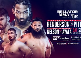 Roy Nelson and Benson Henderson will appear at Bellator 183