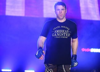 Chael Sonnen, who will face Wanderlei Silva at Bellator NYC