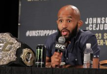 UFC MMA Demetrious Johnson