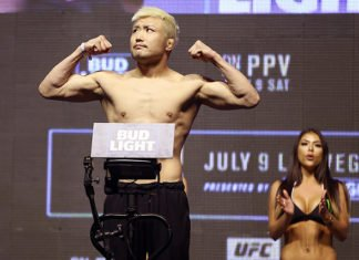 UFC Singapore / UFC Fight Night 111 Takanori Gomi