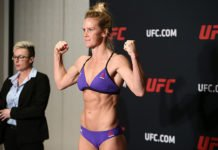 Holly Holm who fought at UFC singapore UFC 235