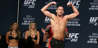 UFC star Nate Diaz