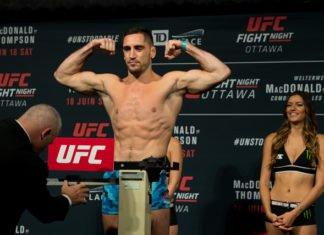 Thibault Gouti off UFC Auckland / UFC Fight Night 110 card
