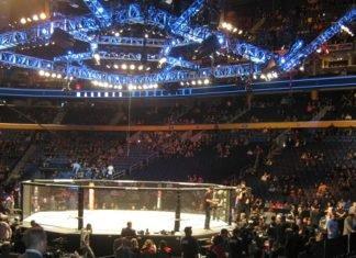 UFC Sydney Alex Volkanovski octagon