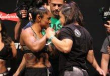 UFC 212 face off
