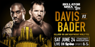 bellator 180 Phil Davis Ryan Bader