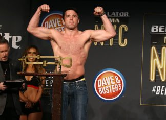 Chael Sonnen defeated Wanderlei Silva at Bellator NYC