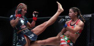 Felice Herrig in Invcita - Herrig scored a dominant win over Justine Kish at UFC Oklahoma City