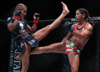 Felice Herrig in Invcita - Herrig scored a dominant win over Justine Kish at UFC Oklahoma City