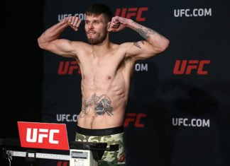 UFC Oklahoma City Tim Means