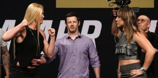 UFC Fight Night 111 (UFC Singapore) Hollm Holm and Bethe Correia