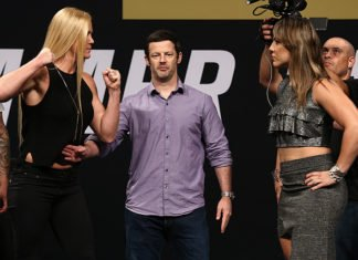 UFC Fight Night 111 (UFC Singapore) Hollm Holm and Bethe Correia
