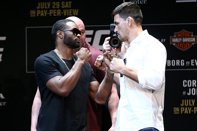UFC 214 Demian Maia Tyron Woodley