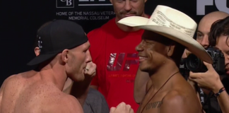 UFC on Fox 25 Alex Oliveira Ryan LaFlare
