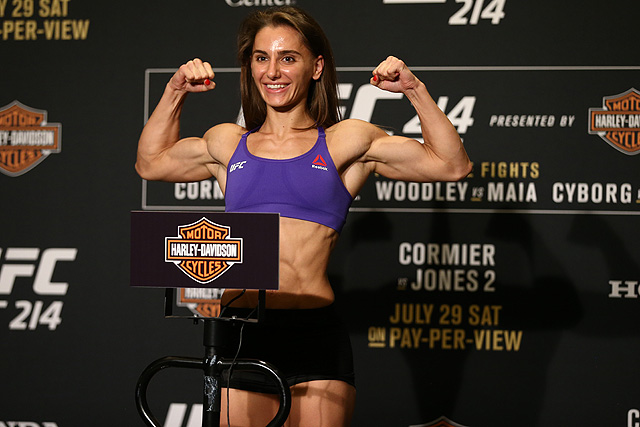 UFC 214 Alexandra Albu