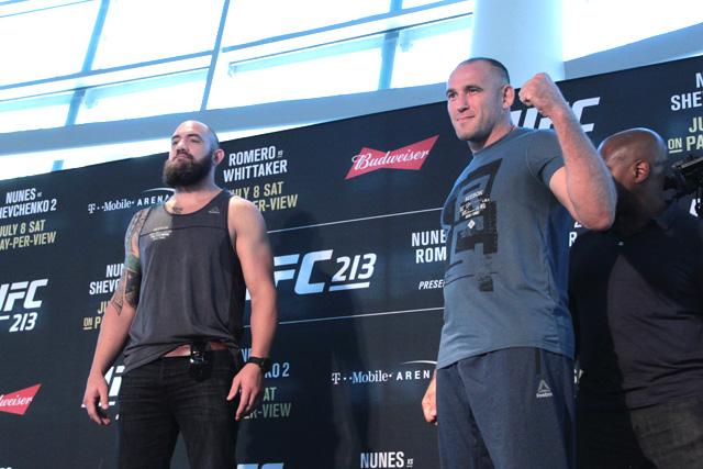 Travis Browne Oleksiy Oliynyk UFC 213