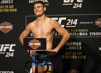 UFC 214 Drew Dober UFC Charlotte