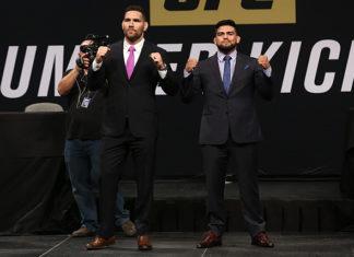 UFC on Fox 25 - Chris Weidman and Kelvin Gastelum