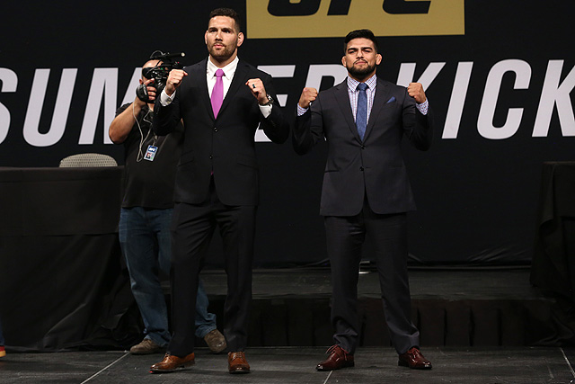 UFC on Fox 25 - Chris Weidman and Kelvin Gastelum