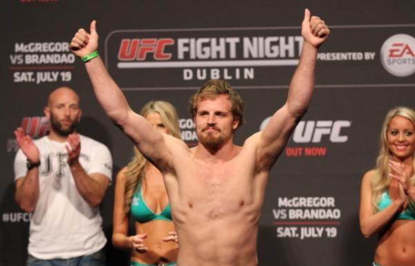 Gunnar Nelson UFC Glasgow UFC 231