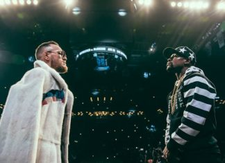Mayweather vs. McGregor Conor McGregor and Floyd Mayweather (mayweather-mcgregor)