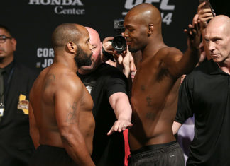 Jon Jones Daniel Cormier UFC 214