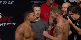 UFC on Fox 25 Darren Elkins Dennis Bermudez