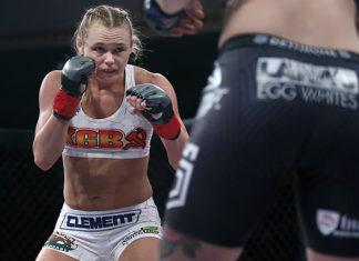 UFC Andrea KGB Lee