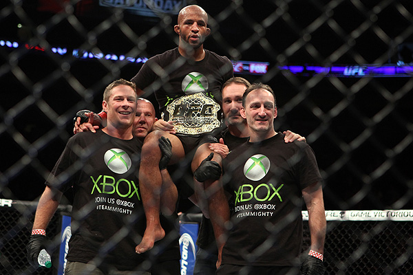 Mighty Mouse vs. Ray Borg headlines UFC 215 in Edmonton