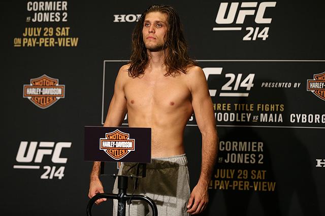 UFC 214 Brian Ortega UFC Fresno