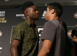 UFC 214 Aljamain Sterling Renan Barao
